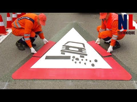 World of Modern Technology Road Construction with Amazing Machines and Skilful Workers ▶ 2