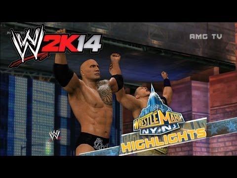 WWE 2K14 - WrestleMania 29 Highlights