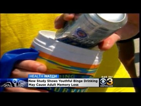 Study: Binge Drinking Could Lead To Brain Issues