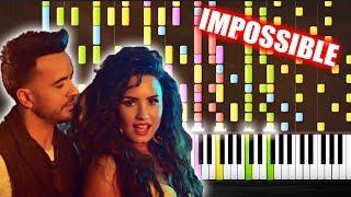 Download Lagu Luis Fonsi, Demi Lovato - Échame La Culpa - IMPOSSIBLE PIANO by PlutaX Gratis STAFABAND