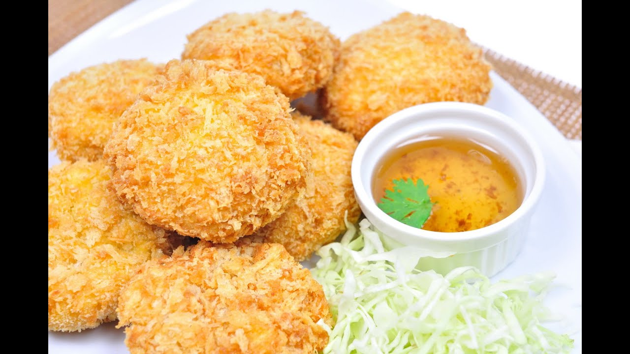 Deep Fried Shrimp Cakes - ทอดมันกุ้ง (Tod Mun Kung ...