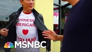 Asian Americans Stump For Donald Trump | MSNBC