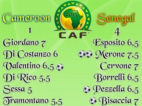 Coppa D'Africa Ciaccio Sport Cameroon-Senegal I Giornata