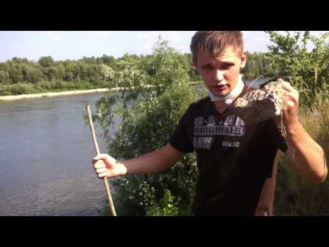 ловля рыбы аккумулятором