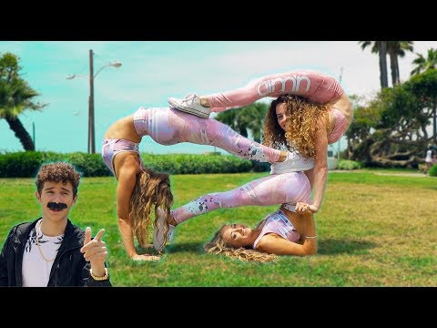 EXTREME YOGA CHALLENGE (with The Rybka Twins) thumbnail