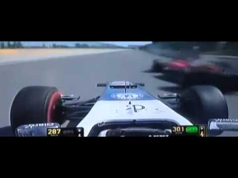 Sergio Pérez supera a Fernando Alonso