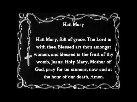 The Five Glorious Mysteries of the Rosary w Pope John Paul II & Mother Teresa