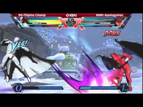 Ultimate Marvel vs. Capcom 3 - The Closest Match of Day 2 - Filipino Champ vs. Apologyman - Evo 2014
