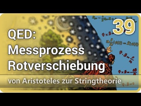 QED Rotverschiebung Messprozess und quadratischer Abfall | Aristoteles zur Stringtheorie (39)