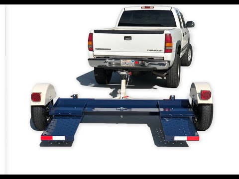 Tow Smart Trailers Car Dolly For Sale, How To Use A Tow Dolly.