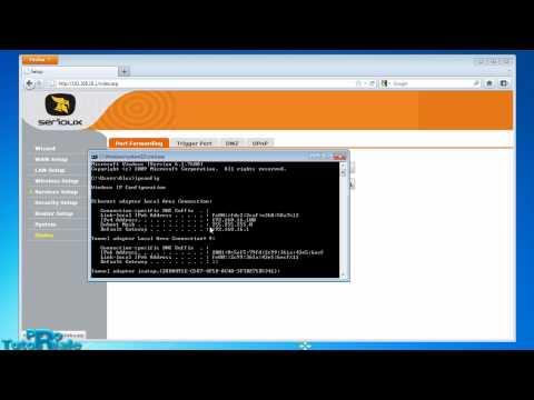 Configurare Router pentru a putea avea un server FTP