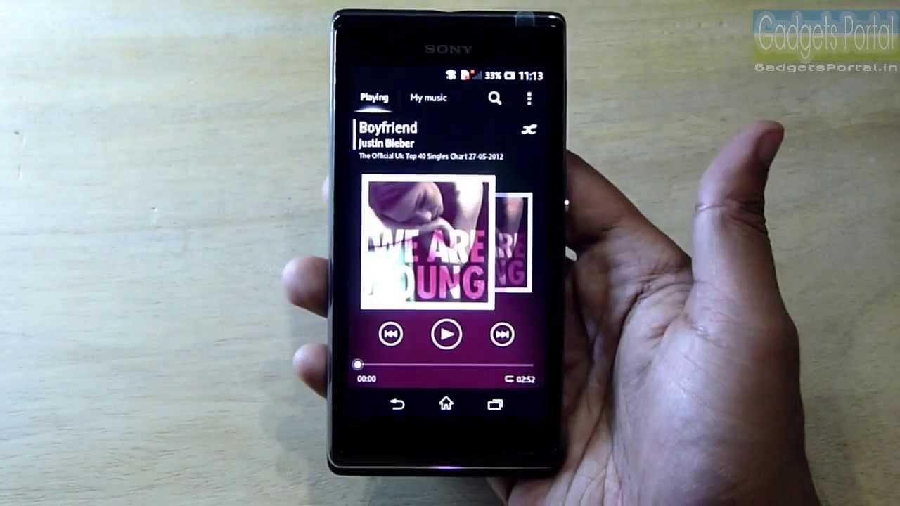 Xperia L Black Price Sony XPERIA L Review full