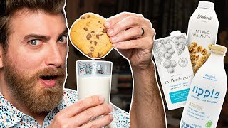 Nut Milk Taste Test