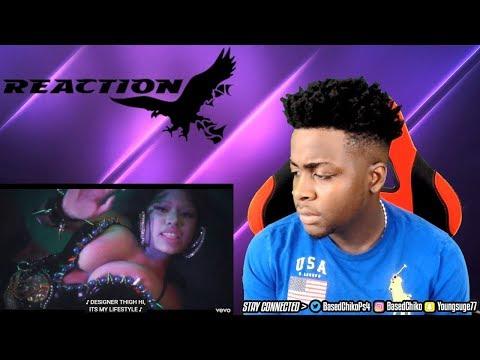 WTF NICKI IS A VIRGIN! Nicki Minaj - Chun-Li (Music Video)   REACTION