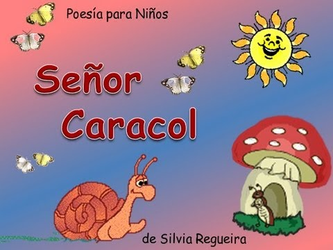 Caracol poes as para ni os youtube for Canciones para jardin de infantes