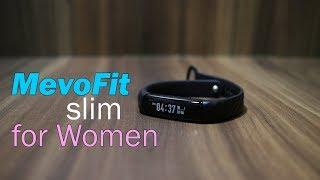 MevoFit Slim Smart Fitness Band for Women, Activity Tracker, Period, Ovulation Tracking
