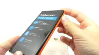 Видео обзор смартфона Highscreen Pure Power 8 Гб оранжевый