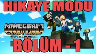 Minecraft: Story Mode (Hikaye Modu) Episode 5 Bölüm 1 [1080P 60FPS] (Türkçe Anlatımlı)