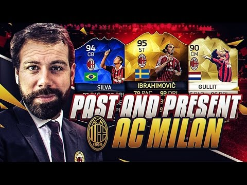 PAST AND PRESENT AC MILAN SQUAD BUILDER!!!! FIFA 16 Ultimate Team