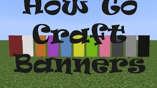 Minecraft Snapshot 14w31a How To Craft Banners