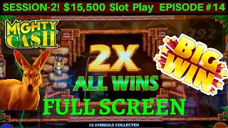 Mighty Cash Outback Bucks Slot Machine BIG WIN w/$12 Max Bet | FANTASTIC SESSION | SE2 EPISODE #14
