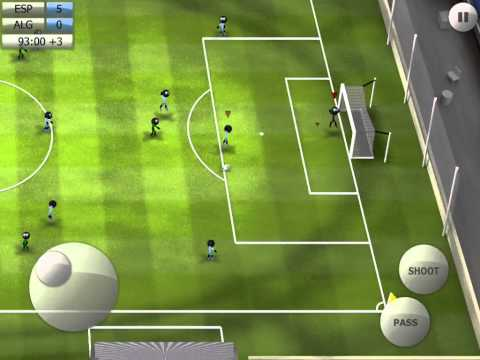 Stickman Soccer 2014 - Spain 5 / Algeria 0