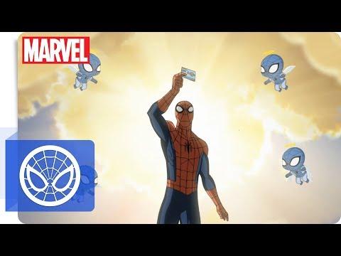 Der ultimative Spider-Man - Der Ausweis   NEU auf Marvel HQ Deutschland