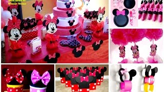 30 ideas para fiesta de Minnie Mouse