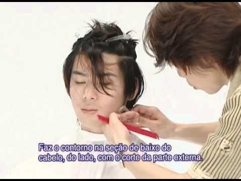07 cabelo curto masculino a navalha Feather styling razor Fejic España (Portug