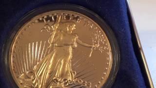 National Collector's Mint Gold 1933 Twenty Dollar Coin