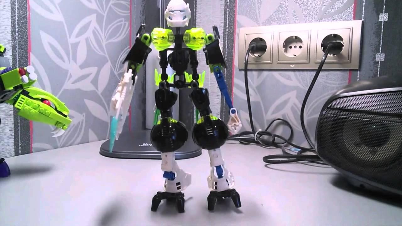 Супер лего комбо робот!!! - YouTube