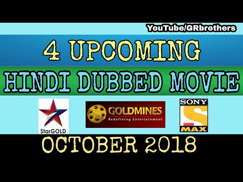 4 Upcoming South Hindi Dubbed Movie 2018 || Release Confirm Date || October Month || GR Brothers