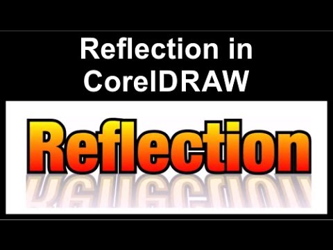 Reflection Effect in CorelDraw