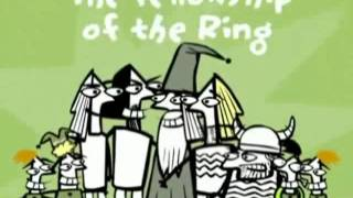 Movie in a Minute - The Lord of the Rings Türkçe
