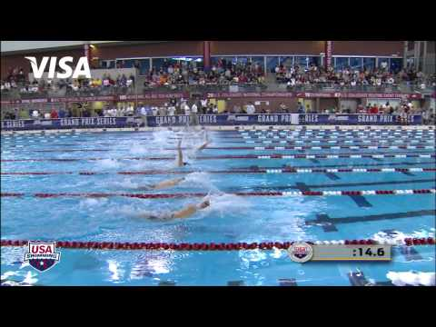 Men's 100m Backstroke B Final - 2012 Columbus Grand Prix