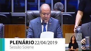 Plenário - Homenagem ao Dia do Contabilista - 22/04/2019 - 11:11