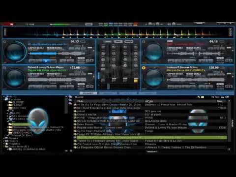 SKINS 2012 PARA VIRTUAL DJ 7 SOLO 4 DECKS RECOPILACION