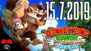 Donkey Kong Country: Tropical Freeze | 15.7.2019 | Agraelus | 1080p60 | Nintendo Switch | CZ