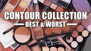 MAKEUP COLLECTION | Best & Worst Contouring Products