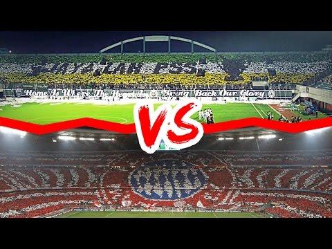 Koreografi Suporter Sepak Bola Indonesia VS Eropa ● Mana Yang Terbaik ? ● HD