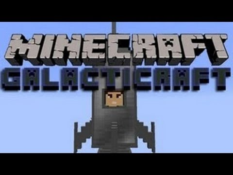 Minecraft 1.7.5 - Galactic Craft Mod! Review/Download
