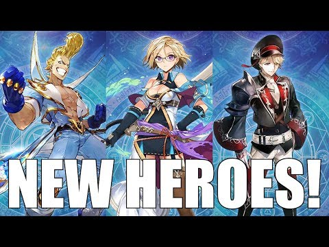 NEW HEROES! Knights Chronicle - Taiyo, Jacqueline, Edwin (Mini-Reviews) + Haspiel Assault!