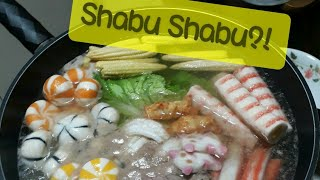 Shabu shabu (improvised) pinoy style bahay edition