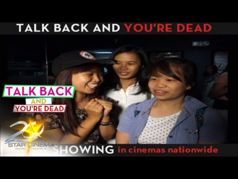 Talk Back and You're Dead (Sulitin na ang long weekend)