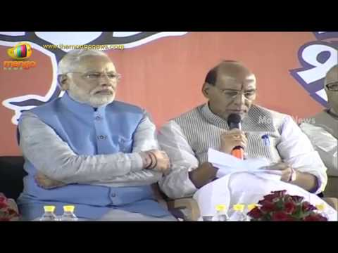 BJP Parliamentary Board Press Meet - Narendra Modi, Rajnath Singh, LK Advani, Sushma Swaraj