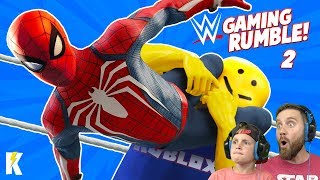 Gaming Royal Rumble in WWE 2k19 Part 2!! KIDCITY GAMING