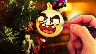 I Customized My Whole Christmas Tree! (CHRISTMAS ART SPECIAL)