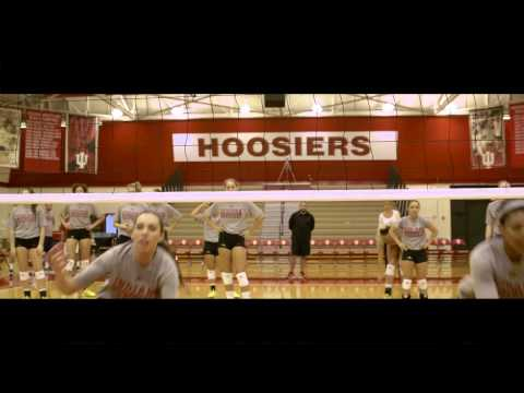 Indiana University Volleyball Game Day