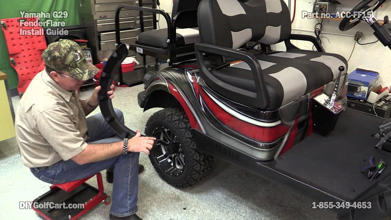 Yamaha G29 Drive Fender Flares How To Install On Golf
