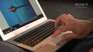 How to use multi-touch gestures on your VAIO